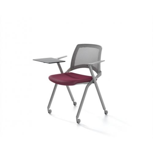 Konferencinių kėdžių linija OPLA su tinkleliu